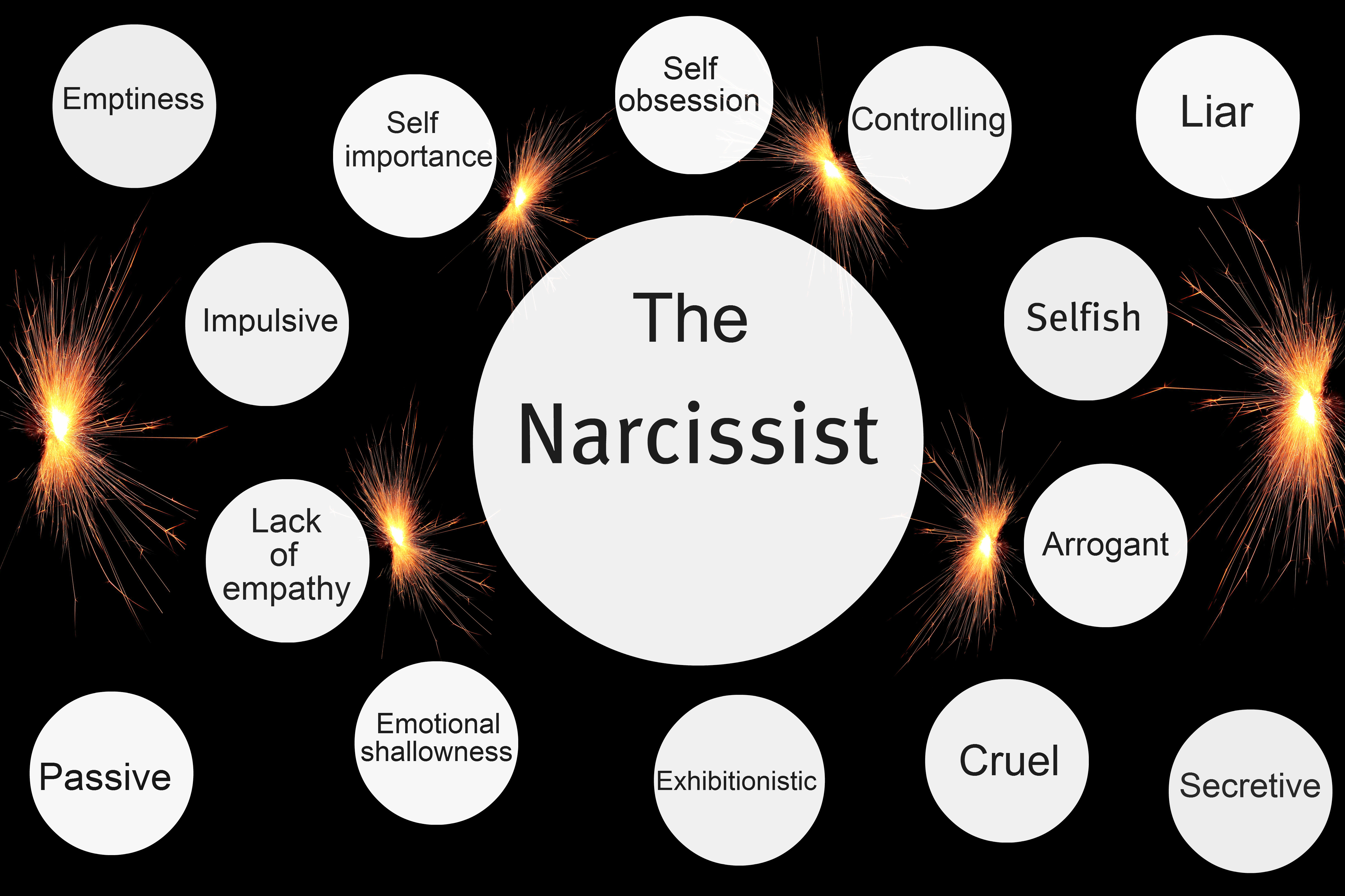 define narcissistic relationship cycles